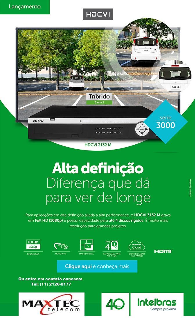 DVR Intelbras HDCVI 3132 M